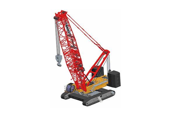 昆山三一55吨履带吊出租-履带式起重机