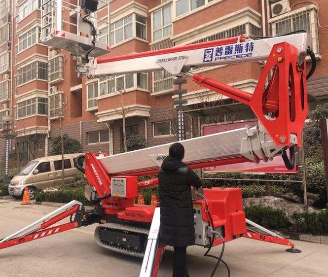 昆山蜘蛛作业车租赁